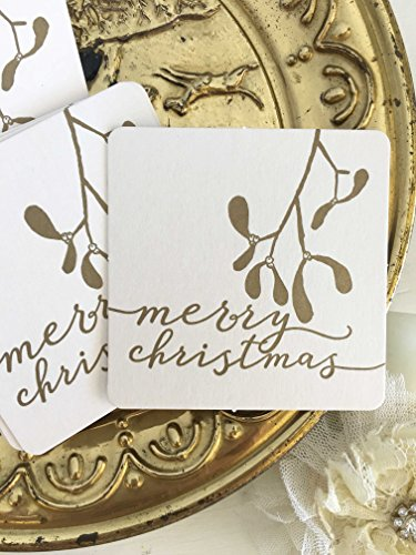 Christmas Drink Coasters - Merry Christmas