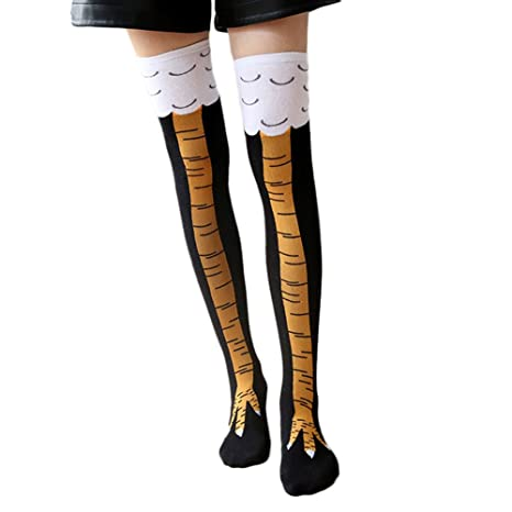 Gespout Calcetines Térmicos Algodón Calcetines para Mujer Dama Niña Divertidos Larga Antideslizantes Cálido Invierno para Deportes