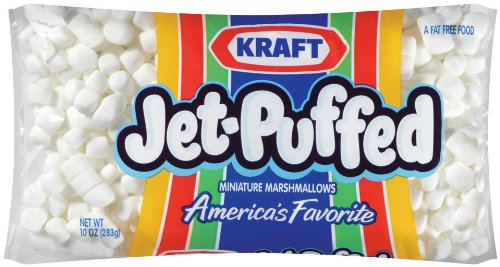 Jet Puffed Mini Marshmallows (10 oz Bags, Pack of 24)