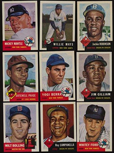 1991 Topps 1953 Archives Baseball NMMT complete 337 card set -