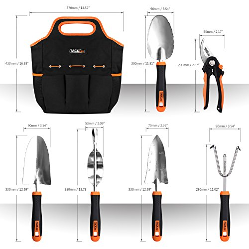 Review TACKLIFE Garden Tools Set,