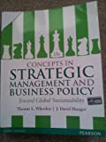 img - for Concepts in Strategic Management and Business Policy: Toward Global Sustainability book / textbook / text book