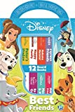 Disney - Best Friends My First Library Board Book Block 12-Book Set - PI Kids