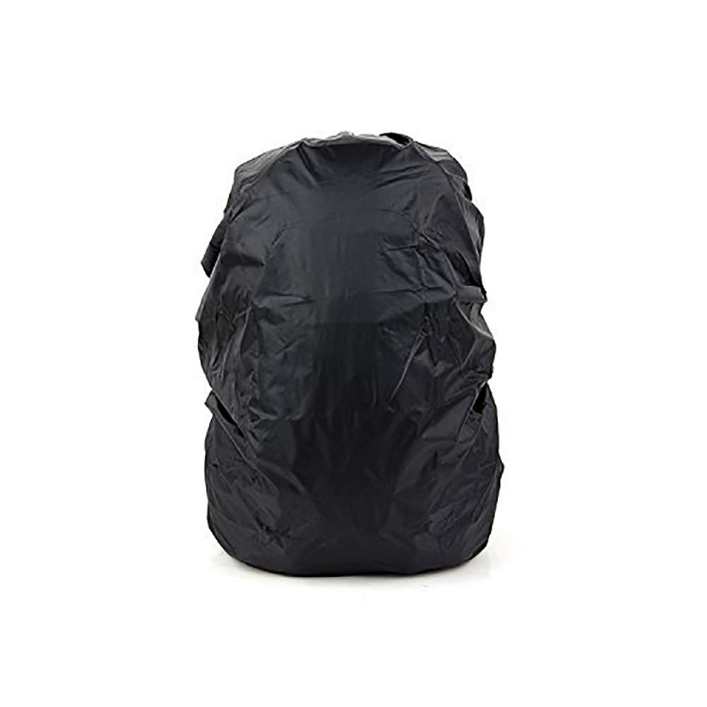 Waterproof Backpack Rain Cover Durable Elastic Adjustable Water Resist Cover for 30-40L Lightweight Rucksack Backpack of Camping Hiking Climbing Cycling and Other Outdoor Activities HZC28 (Black) HZC28-01