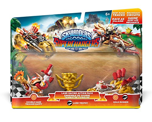 Skylanders SuperChargers: Racing Land Pack (Gold Figure Trophy)