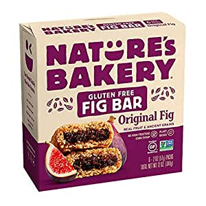 Nature's Bakery Gluten Free Original Fig Bar, 340.2 g
