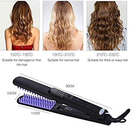 MYPNB Sèche Cheveux en Une étape et Fer à friser Lisseur
