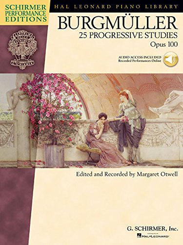 Download Burgmuller - 25 Progressive Studies, Opus 100 (Schirmer's Library of Musical Classics) pdf