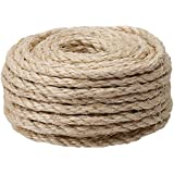 """CAT SCRATCHING POST - Replacement Sisal Rope: 3/8"""" x 50'"""