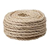 CAT SCRATCHING POST - Replacement Sisal Rope: 3 8