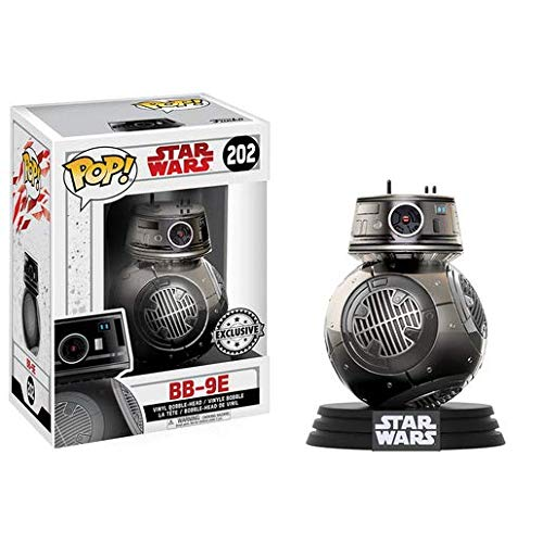 Collection Chrome Flush - Funko Pop! Star Wars The Last Jedi BB-9E #202 (Chrome Exclusive)