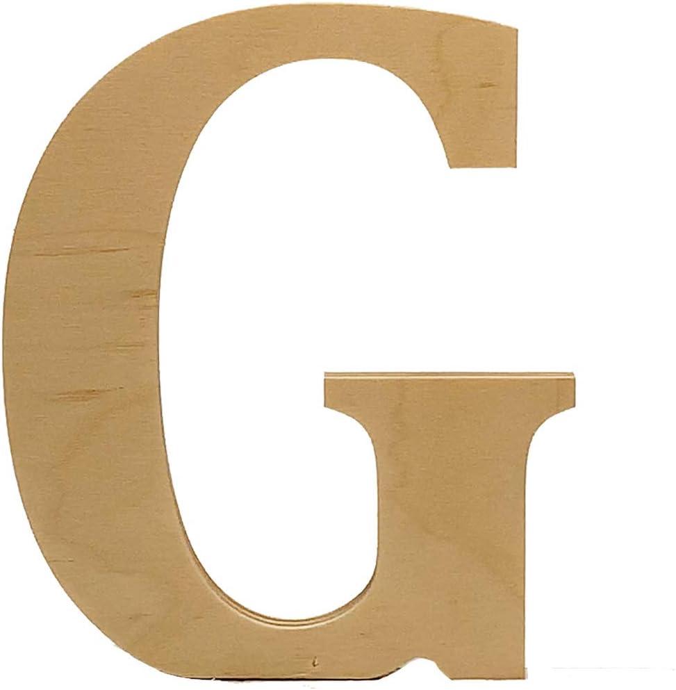 Wooden Letter G. 4