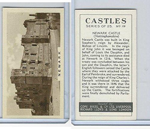 C132-81 Cope, Castles, 1939, 19 Newark Castle, ()
