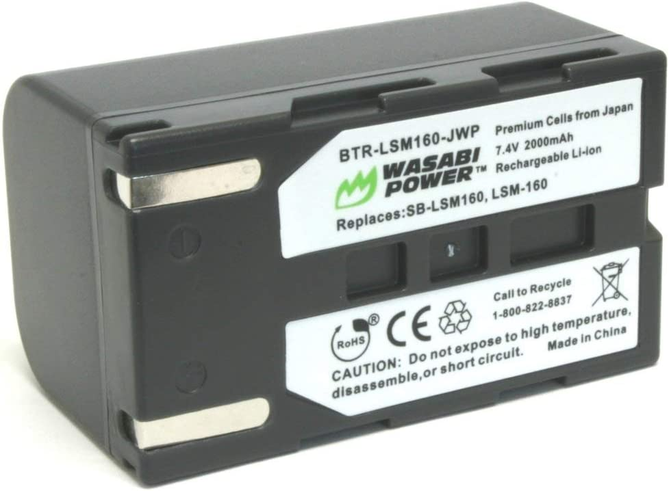 Wasabi Power Battery for Samsung SB-LSM160