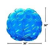 """Inflatable Bubble Bumper Balls, Bbop Bumper Body Balls 36"""" - Giga Sumo Zorb Suits (Set of 2)"""