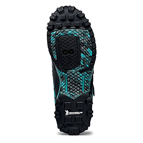 Northwave Man MTB enduro shoes ENDURO MID black/aqua GM2Yi0lB