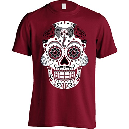 Male Sugar Skull (America's Finest Apparel - Alabama Sugar Skull Men's (Small))