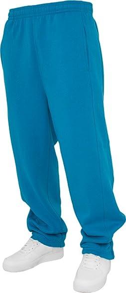 Urban Classics Men's TB014B Sweatpants M Turquoise