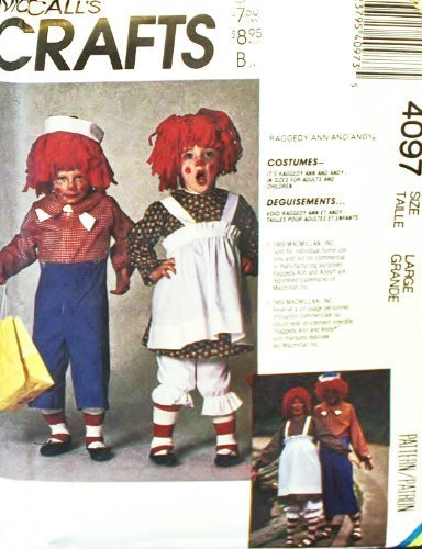 OOP M (Raggedy Andy Costume Pattern)
