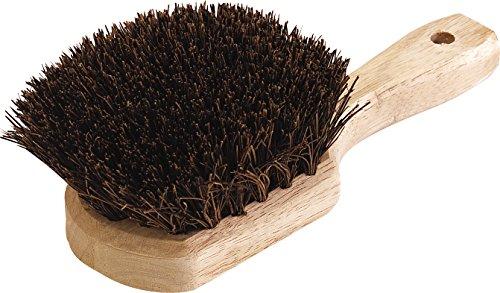 Palmyra Scrub Brush - Carlisle 4546300 Utility Palmyra Deck Scrub Brush, 8-1/2