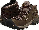KEEN Utility Men's Detroit Mid Soft Toe Work Boot,Black Olive,12 D US