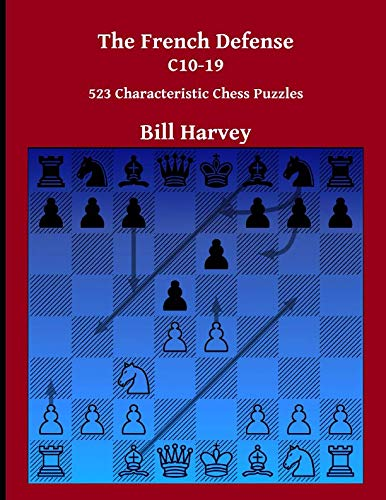 The French Defense C10-19: 523 Characteristic Chess Puzzles