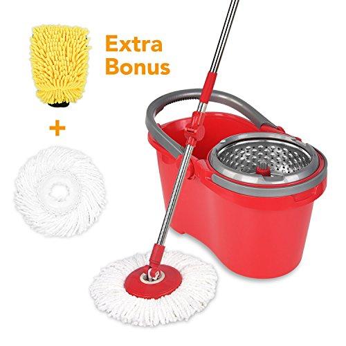 Hapinnex Spinning Mop Bucket Self Balanced product image