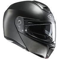HJC 14609508 Casco de Moto, Semi Flat Titanium