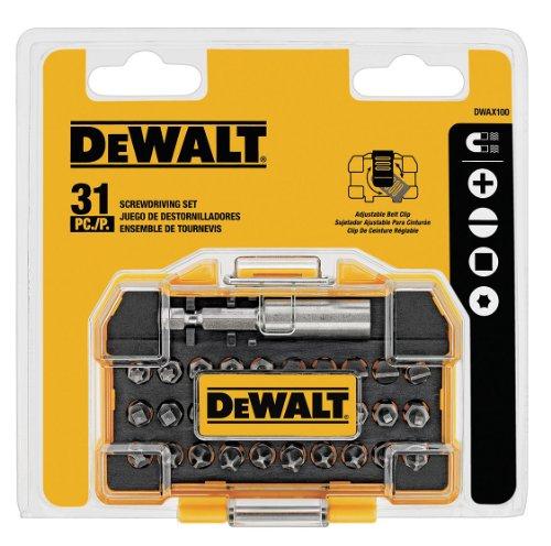 DEWALT DWAX200 Security Screwdriving Set, 31-Piece - Security Tools