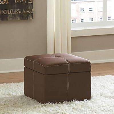 Dorel Home Products Delaney Small Square Ottoman