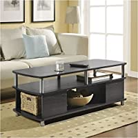 Pemberly Row Coffee Table in Espresso Finish