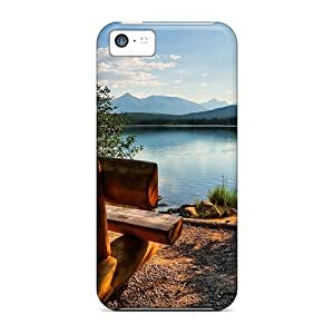 AlikonAdama Fashion Protective Have A Seat Enjoy The View Cases Covers For Iphone 5c