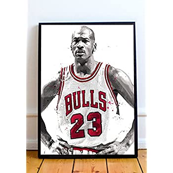 Michael Jordan Limited Poster Artwork - Professional Wall Art Merchandise (More Sizes Available) (8x10)