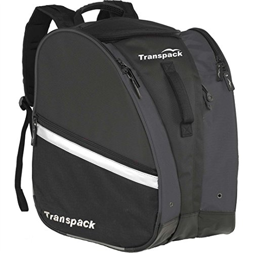 Transpack TRV Pro Bag 2015 (Black/Silver Reflect) by Transpack