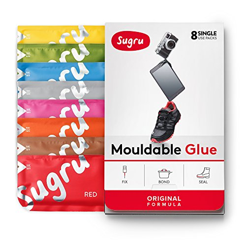 Sugru Moldable Glue - Original Formula - New Colors 8-Pack ()
