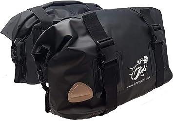 Motorrad Tasche Gepäcktasche Satteltasche 40l Roll Top Adventure Sports Oder Straßen Bikes Weiche Gepäck Auto
