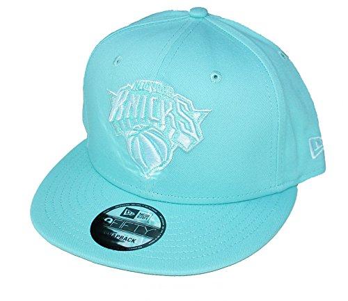 (New York Knicks New Era Snapback Adjustable One Size Fits Most Hat Cap - Mint Green)