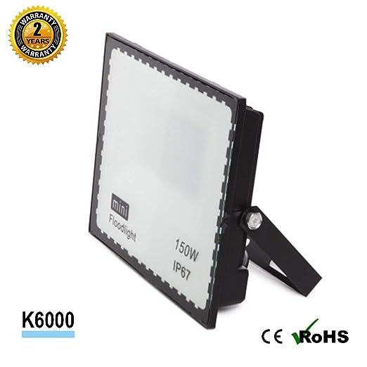 Foco Proyector LED SMD Mini 150W 90LM/W Antideslumramiento Jardin ...