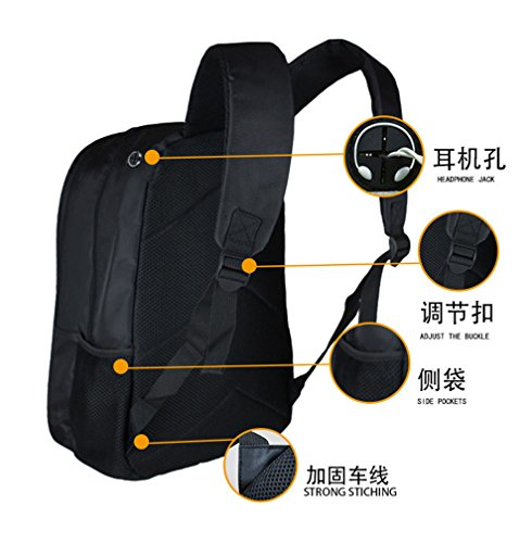 YOYOSHome Anime Dragon Ball Z Cosplay BookBag Daypack Backpack School Bag by YOYOSHome (Image #4)