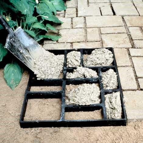 KDNSJIFB - Molde de hormigón para pavimentar Cemento: Amazon.es: Jardín