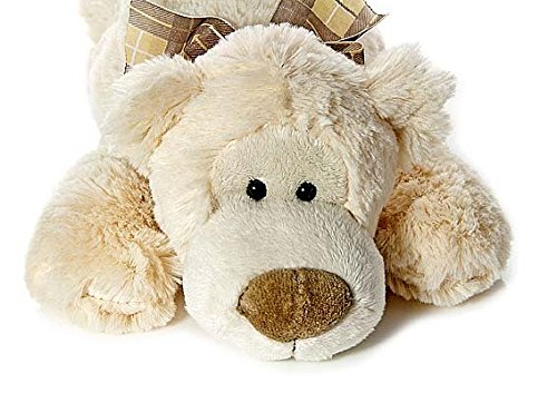 Mousehouse Gifts Large Big Stuffed Animal Polar Bear Teddy Plush Soft Toy for Kids Baby Present Gift 20 inches