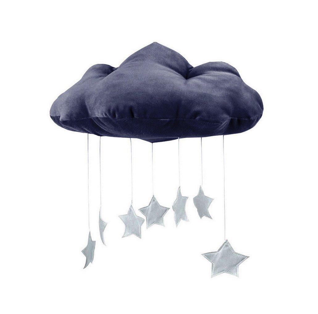Winomo Baby Decken Mobile Hangende Wolken Dekorationen Mond Und
