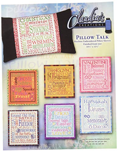 Pillow Talk Pattern - Claudia's Creations PT60987 Pillow Talk Pattern