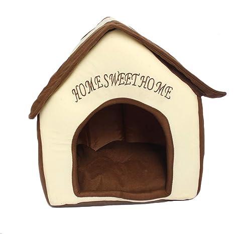 Cama para Perros y Gatos Interiores Portátil Plegable de ...