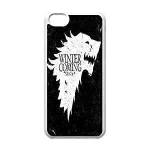 New Fashion Durable Hard Phone Case Cover for Iphone 5C Case Cover - Game of Thrones HX-MI-092313
