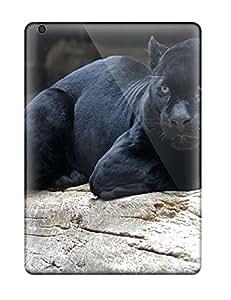 Burrisoutdoor98 XTa12105jiXR Cases Covers Skin For Ipad Air (black Jaguar Animal)