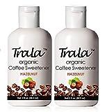 TraLa Certified Organic Coffee Syrup Sweetener - Keto, Vegan & Kosher - For