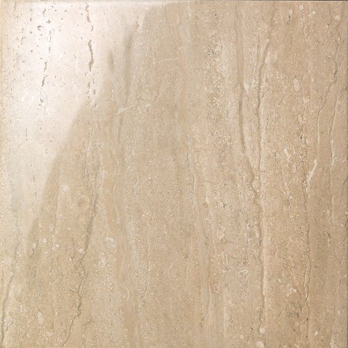 Samson 1043018 Travertini Polished Floor and Wall Tile, 16.75X16.75-Inch, Noce, 7-Pack