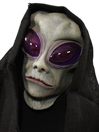 ZAGONE Classic Alien Overhead Mask w/ Hood