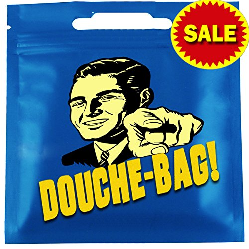 [The Douche Bag Funny Novelty Christmas / Birthday Gifts Item for Him or Her - Gag Gift for Men, Women, Brother, Sister, Teen, Uncle, Best Friend, Mom, Dad, Boyfriend, Girlfriend, Husband, Wife,] (Mens Costume Ideas Homemade)